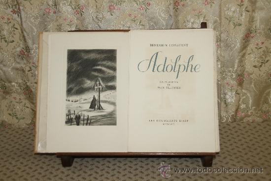 3420- ADOLPHE. BEMJAMIN CONSTANT. EDIT. LES DOCUMENTS D'ART. 1945. (Libros de Segunda Mano - Bellas artes, ocio y coleccionismo - Pintura)