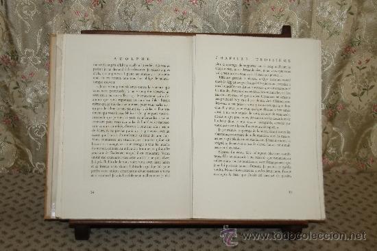 Libros de segunda mano: 3420- ADOLPHE. BEMJAMIN CONSTANT. EDIT. LES DOCUMENTS DART. 1945. - Foto 3 - 37685173