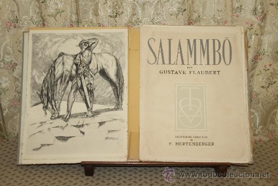 3423- SALAMMBO. GUSTAVE FLAUBERT. EDIT. LA TRADITION. 1948. (Libros de Segunda Mano - Bellas artes, ocio y coleccionismo - Pintura)