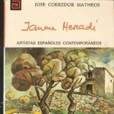 Libros de segunda mano: JAUME MERCADÉ. JOSÉ CORREDOR MATEOS. Nº124. ARTISTAS ESPAÑOLES CONTEMPORÁNEOS. 1ª ED. 1975. Lote 38118089