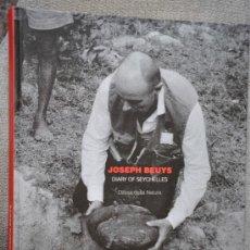 Libros de segunda mano: JOSEPH BEUYS DIARY OF SEYCHELLES DIFESA DELLA NATURA CAIXA GIRONA. Lote 38203847