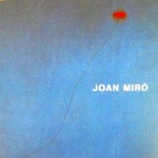 Libros de segunda mano: 'JOAN MIRÓ. CAMPO DE ESTRELLAS' (1993) CATÁL. EXPO. Mº REINA SOFÍA, AGOTADO, DESCATALOGADO, IMPECABL. Lote 38388089