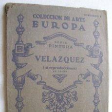 Libros de segunda mano: VELÁZQUEZ. COLECCIÓN DE ARTE EUROPA. Lote 38477392