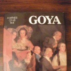 Libros de segunda mano: GOYA. A WITNESS OF HIS TIMES --- PIERRE GASSIER. Lote 151456848