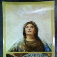 Libros de segunda mano: 1982 REGINA MARTIRUM - GOYA - ILUSTRACIONES. Lote 38779669