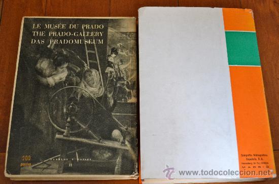 Libros de segunda mano: ¡ESPECIAL LOTE DE 2 LIBROS SOBRE EL MUSEO DEL PRADO!. MUY ILUSTRADOS Y EN BUEN ESTADO. VER FOTOS. - Foto 2 - 38922214