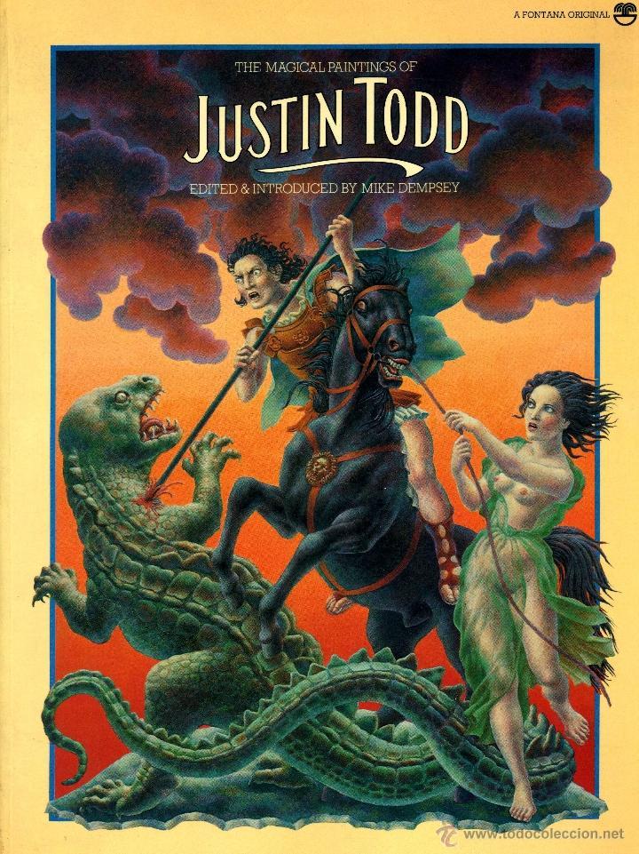 THE MAGICAL PAINTINGS OF JUSTIN TODD (FONTANA, 1978) (Libros de Segunda Mano - Bellas artes, ocio y coleccionismo - Pintura)