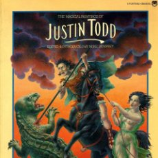 Libros de segunda mano: THE MAGICAL PAINTINGS OF JUSTIN TODD (FONTANA, 1978). Lote 39532526