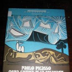 Libros de segunda mano: PABLO PICASSO.OBRA GRAFICA COLECCION MUSEO ESTATAL DE BELLAS ARTES PUSHKIN DE MOSCU*. Lote 39708262