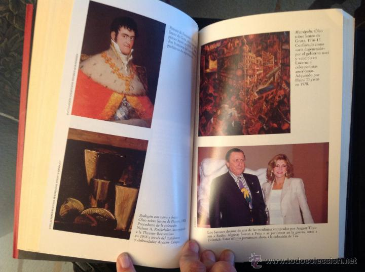 Libros de segunda mano: Los Thyssen, por amor al arte, de Conxa Rodríguez, grupo Zeta 1997 - Foto 2 - 40741388