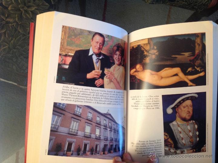 Libros de segunda mano: Los Thyssen, por amor al arte, de Conxa Rodríguez, grupo Zeta 1997 - Foto 3 - 40741388