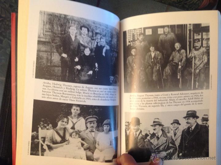 Libros de segunda mano: Los Thyssen, por amor al arte, de Conxa Rodríguez, grupo Zeta 1997 - Foto 4 - 40741388