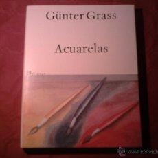 Libros de segunda mano: GÜNTER GRASS - ACUARELAS EL ALEPH 2002 LIBRO NUEVO. Lote 41229468