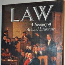 Libros de segunda mano: LAW: A TREASURY OF ART ABD LITERATURE. SARA ROBBINS RM64627. Lote 41510635