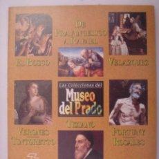 Libros de segunda mano: MAESTROS DEL MUSEO DEL PRADO. DE FRA ANGELICO A RAFAEL/EL BOSCO.... Lote 41564921