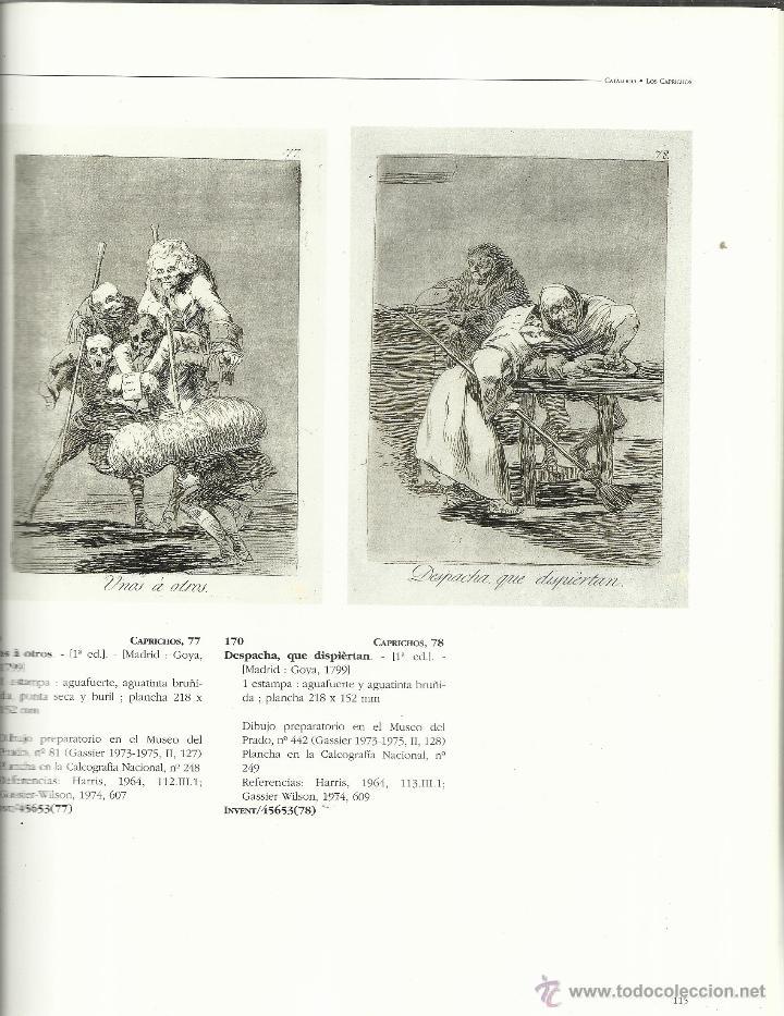 Libros de segunda mano: CATÁLOGO DE LAS ESTAMPAS DE GOYA. BIBLIOTECA NACIONAL. LUNWERG EDITORIAL. MADRID. 1996 - Foto 2 - 41565768