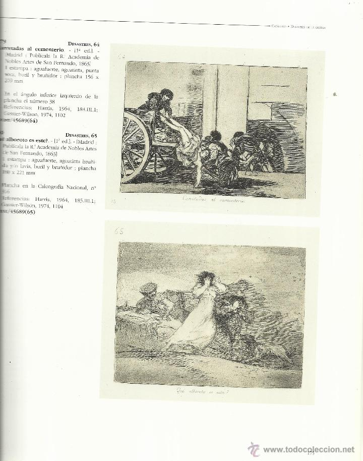 Libros de segunda mano: CATÁLOGO DE LAS ESTAMPAS DE GOYA. BIBLIOTECA NACIONAL. LUNWERG EDITORIAL. MADRID. 1996 - Foto 3 - 41565768