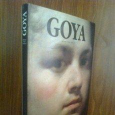 Libros de segunda mano: GOYA - TOMO PLANETA 1990 - COLECCIÓN PERFILES DEL ARTE. Lote 41757213