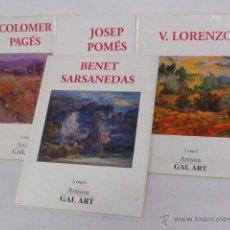 Libros de segunda mano: ARTISTAS GAL ART. Lote 41839422