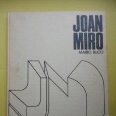 Libri di seconda mano: JOAN MIRÓ. MARIO BUCCI.. Lote 42217605