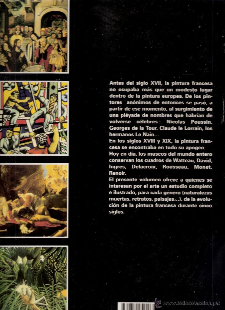 Libros de segunda mano: La pintura francesa. Cinco siglos de pintura francesa. Serge Daniel. Parkestone Aurora. 1996. - Foto 3 - 42349271