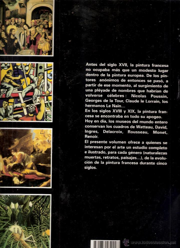 Libros de segunda mano: La pintura francesa. Cinco siglos de pintura francesa. Serge Daniel. Parkestone Aurora. 1996. - Foto 4 - 42349271