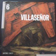 Libros de segunda mano: VILLASEÑOR. ANTONIO ZARCO. JUNTA DE COMUNIDADES DE CASTILLA-LA MANCHA. 1990. TAPA DURA EN TELA CON S. Lote 42650723