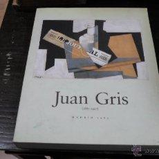 Libros de segunda mano: JUAN GRIS (1887-1927), MADRID, 1985, MINISTERIO DE CULTURA. Lote 42720538