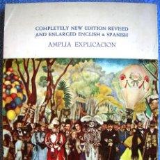 Libros de segunda mano: GUIA OFICIAL FRESCOS DE DIEGO RIVERA. CON 43 LAMINAS EN CROMOLITOGRAFIA. ESPAÑOL, INGLES. MEXICO DF. Lote 42795218