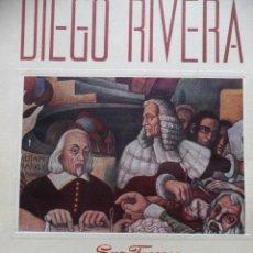 Libros de segunda mano: DIEGO RIVERA. SUS FRESCOS. IGNACIO CHAVEZ. INST. NACIONAL DE CARDIOLOGÍA. MEXICO 1946. Lote 42814327