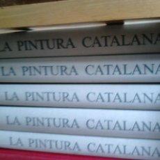 Libros de segunda mano: LA PINTURA CATALANA. Lote 42828601