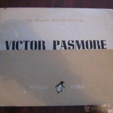 Libros de segunda mano: VICTOR PASMORE. THE PENGUIN MODERN PAINTERS. Lote 43115779