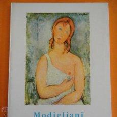 Libros de segunda mano: LIBRITO COLECCION MINIA Nº 18 MODIGLIANI . FIGURAS . ED. GUSTAVO GILI .. Lote 43857337