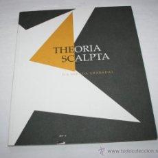 Libros de segunda mano: THEORIA SCALPTA LA MIRADA GRABADA - RED ITINER - COMUNIDAD DE MADRID - LIBRO DE ARTE. Lote 44164324
