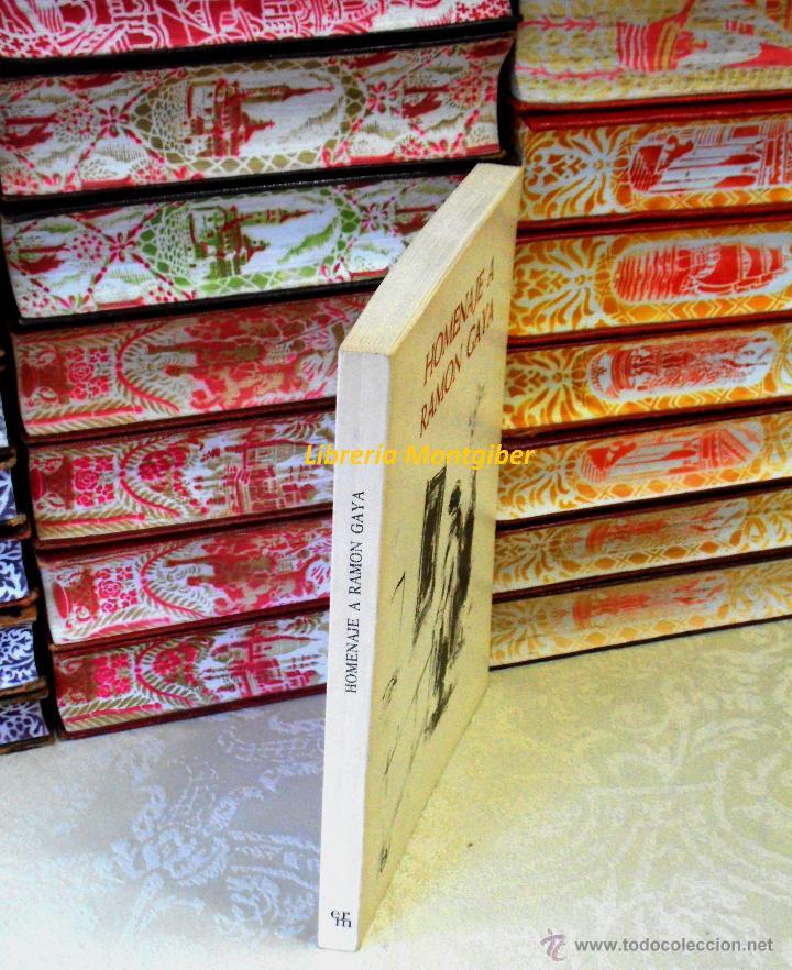 Libros de segunda mano: HOMENAJE A RAMON GAYA . - Foto 2 - 44683367