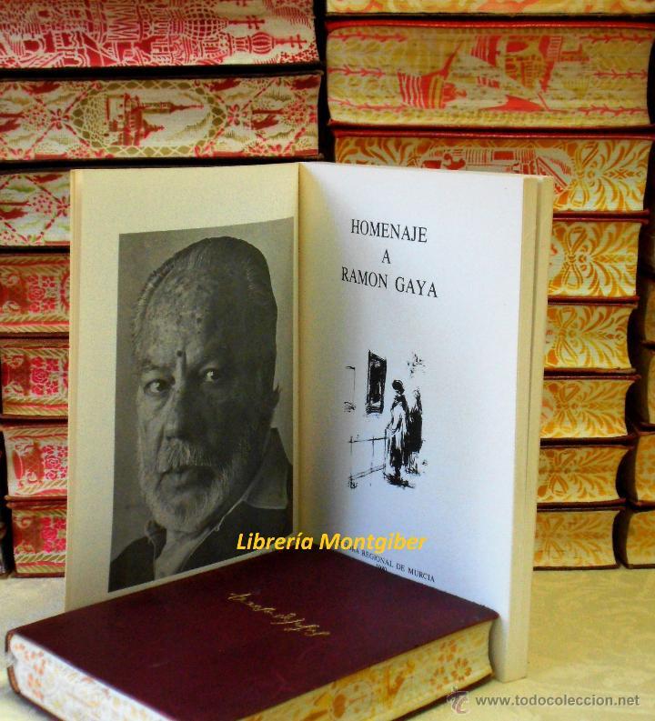 Libros de segunda mano: HOMENAJE A RAMON GAYA . - Foto 3 - 44683367