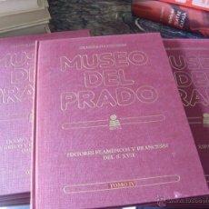 Libros de segunda mano: EL MUSEO DEL PRADO TOMOS 1 AL 7 COMPLETO CON TODAS LAS LAMINAS SIN PEGAR (ORGAZ) (EN1G). Lote 44692295