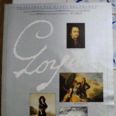 Libros de segunda mano: MAESTROS DEL MUSEO DEL PRADO - GOYA - FASCICULO 1. Lote 44926024