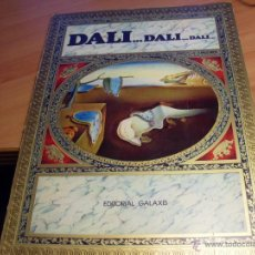 Libros de segunda mano: DALI, DALI, DALI (ED. GALAXIS) (LB17). Lote 45007160
