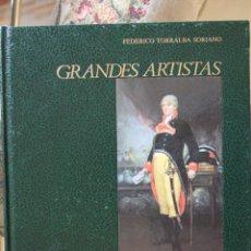 Libros de segunda mano: GRANDES ARTISTAS - GOYA. Lote 45010165