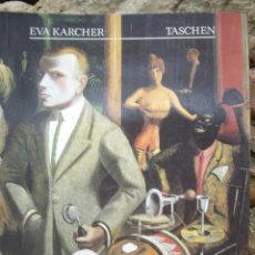 Libros de segunda mano: EVA KARCHER: OTTO DIX 1891-1969 LEBEN UND WERK, ED.TASCHEN 1988. Lote 45136426