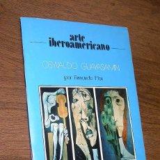 Libros de segunda mano: OSWALDO GUAYASAMIN POR FERNANDO MON. ARTE IBEROAMERICANO Nº 3. 24 DIAPOSITIVAS. MOVINTER, 1981. ++++. Lote 45551918