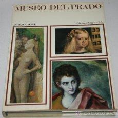 Libros de segunda mano: MUSEO DEL PRADO, J. SUBIAS GALTER, EDICIONES POLIGRAFA 1972 - LIBRO ANTIGUO. Lote 45560291