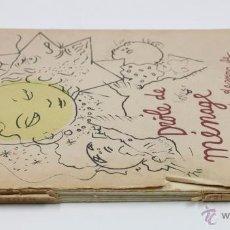 Libros de segunda mano: DROLE DE MÉNAGE, JEAN COCTEAU. PAUL MORIHIEN, EXEMPLAIRE Nº406. LOMO ROTO, VER FOTOS. 31X25CM.. Lote 45620947