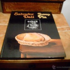 Libros de segunda mano: SALVADOR DALI,JOSEP PLA,- OBRES DE MUSEU-1981. Lote 45678465