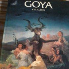 Libros de segunda mano: GOYA JOSÉ GUDIO. EDICIONES POLÍGRAFA, S.A. 1984 EST18B3. Lote 45790629
