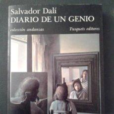 Libros de segunda mano: 1986 DIARIO DE UN GENIO - SALVADOR DALÍ / ILUSTRADO. Lote 45821078