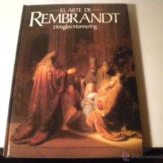 Libros de segunda mano: EL ARTE DE REMBRANDT. Lote 45912823