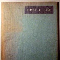 Libros de segunda mano: EMIL FILLA - PRAGA 1938 - 25 ILUSTRACIONES EN COLOR Y NEGRO F.T.. Lote 45957449