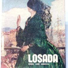 Libros de segunda mano: LOSADA. POR MANUEL LLANO GOROSTIZA. EDITA ESPASA CALPE. AÑO 1975. GRAN FORMATO.. Lote 46146810